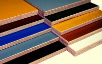 цветная ламинированная фанера
